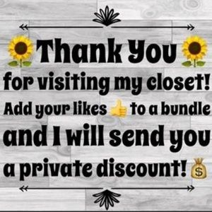 Add your likes to a bundle for a private discount.